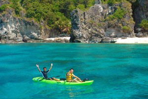 Watersport activities in Puerto Galera