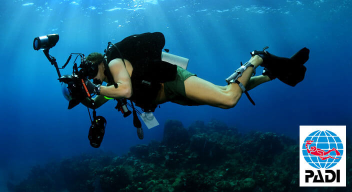 padi underwater photographer