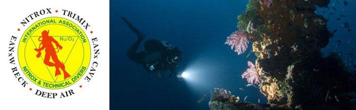 tech normoxic trimix diving puerto galera
