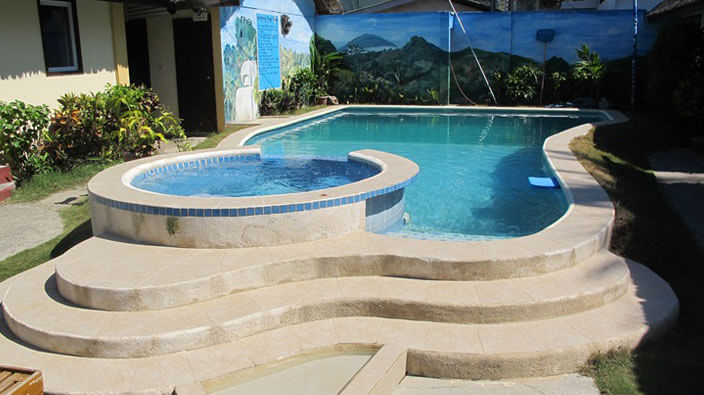blue ribbon resort swimming-pool