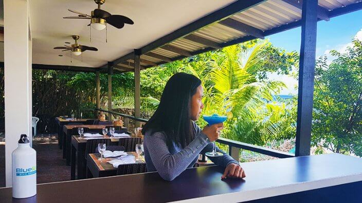 blue ribbon resort restaurant anilao batangas philippines