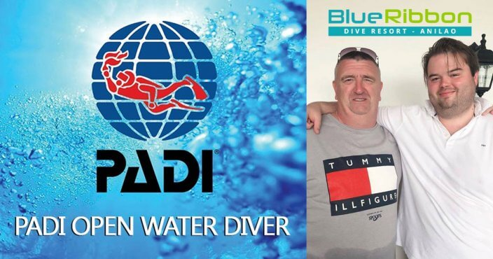 padi open water diver course anilao batangas Philippines