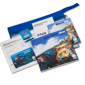 padi open water diver crew pack
